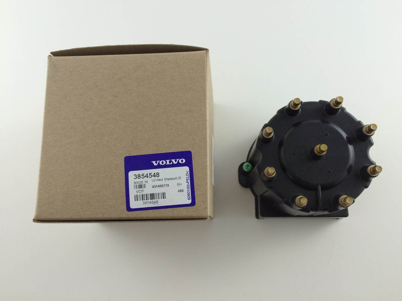 $27.14 ** DISTRIBUTOR CAP- 3854548 ** IN STOCK & READY TO SHIP!