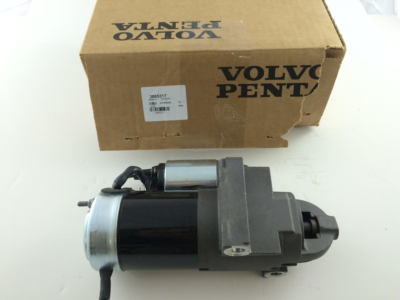 $264.95* GENUINE VOLVO STARTER MOTOR- 3885317 ** IN STOCK & READY TO SHIP! **