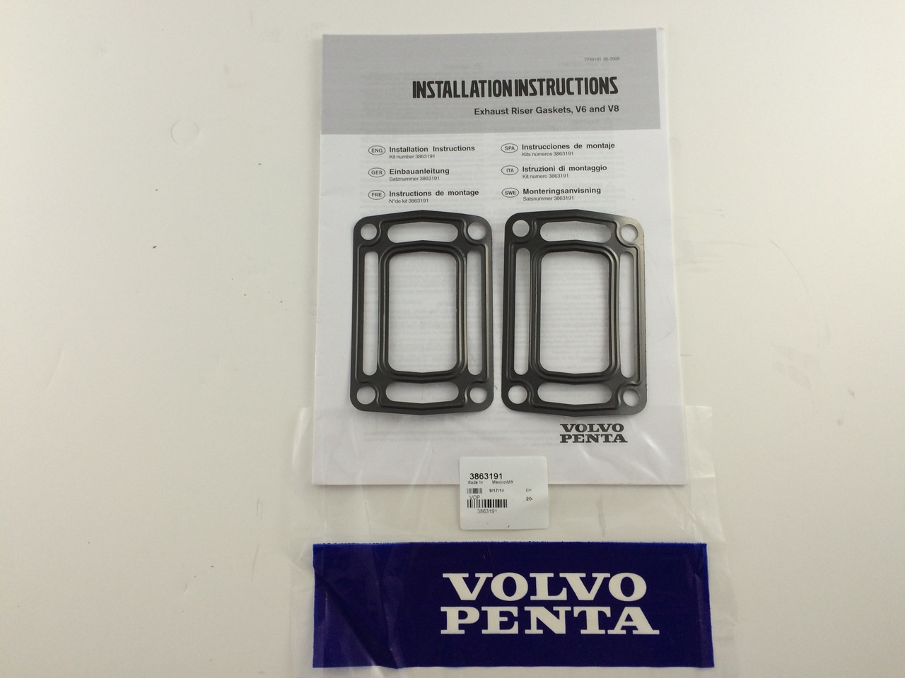 RISER GASKET KIT - 3863191 ** IN STOCK & READY TO SHIP