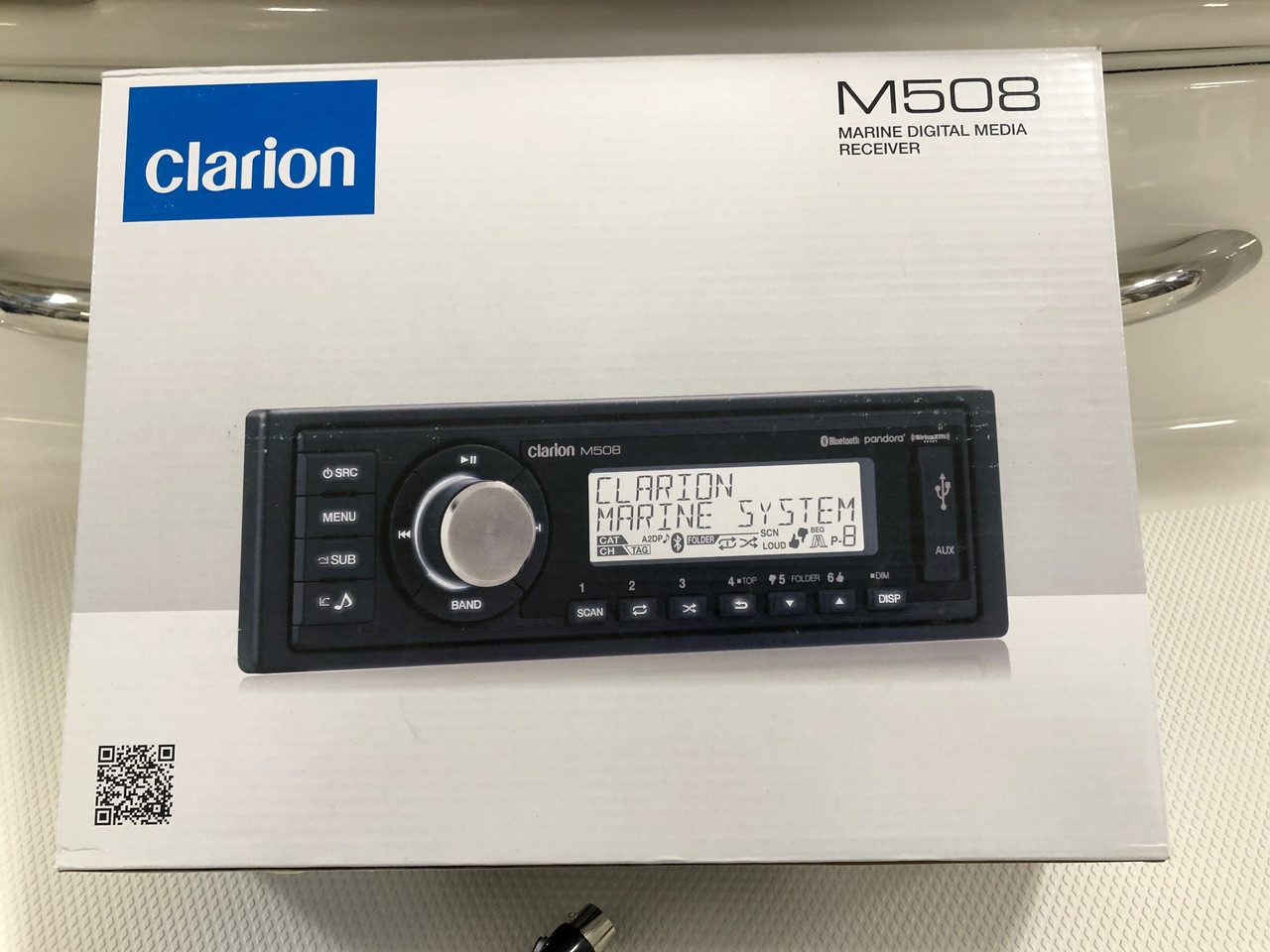 Clarion Stereo - M508 Upgrade Kit With Bluetooth ** In Stock & Ready To Ship! **