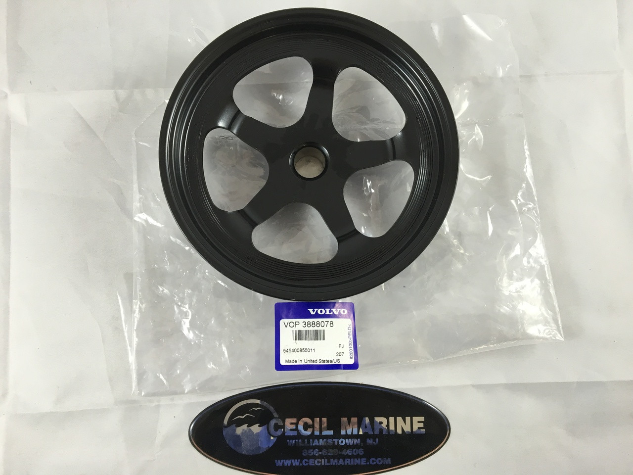 $96.13 ** PULLEY 3888078 In stock & ready to ship!