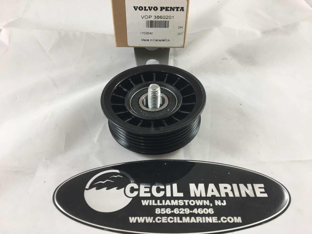 IDLER PULLEY - 3860201** In Stock & Ready To Ship!