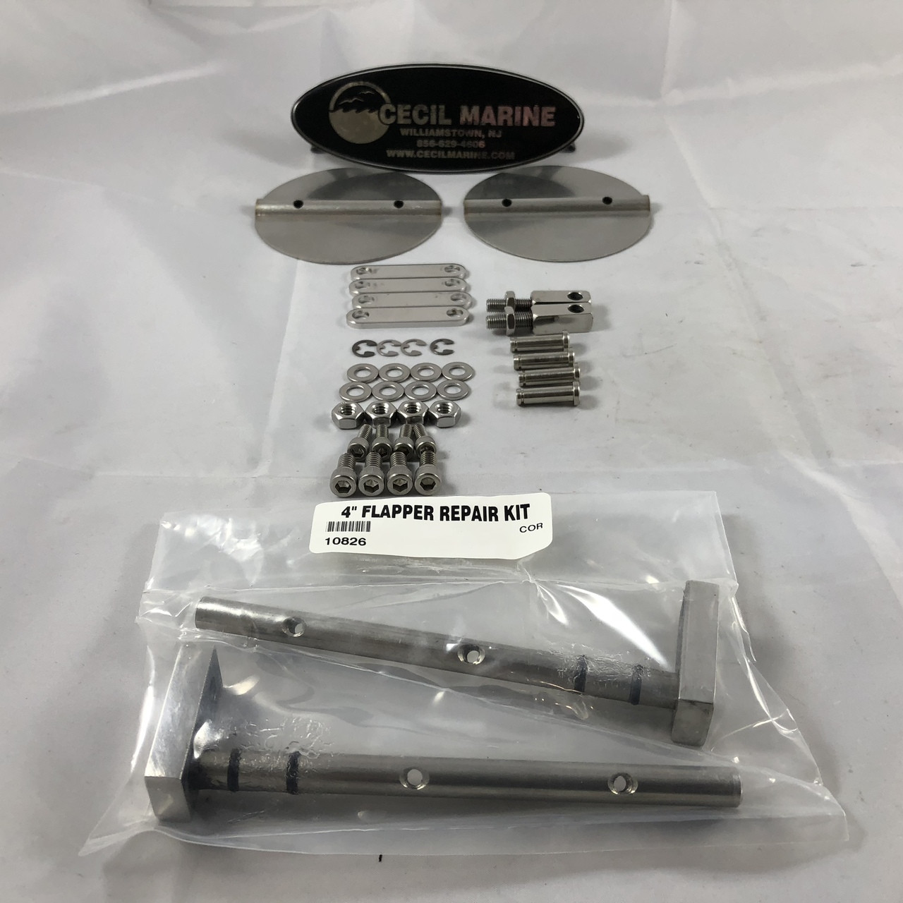 "CORSA QUICK & QUIET EXHAUST 4"" FLAPPER REPAIR KIT  ** IN STOCK & READY TO SHIP! **"