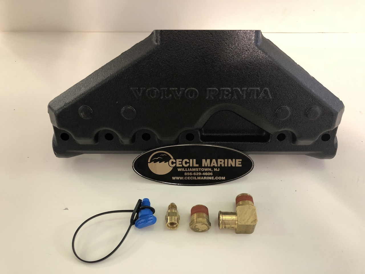 $1499.00 & FREE SHIPPING GENUINE PENTA  VOLVO PENTA  4.3L ( V-6 )  MANIFOLD REPLACEMENT KIT    ** GENUINE VOLVO PENTA *** EXHAUST MANIFOLD 3847499 ** In Stock & Ready To Ship!
