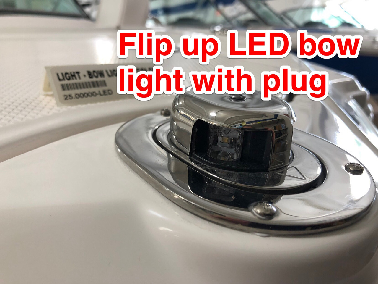 """CHAPARRAL BOW LIGHT BI COLOR HIDEAWAY   """"LED"""" * WITH PLUG CONNECTOR **In Stock & Ready To Ship!"""