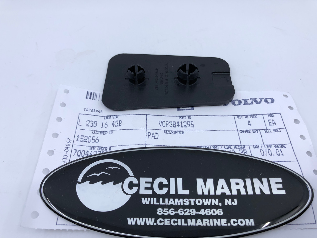 $7.95* GENUINE VOLVO PAD 3841295 *In Stock & Ready To Ship!