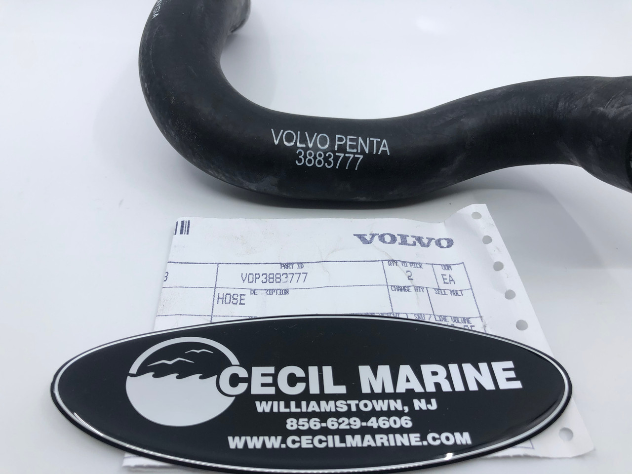 $29.95* GENUINE VOLVO PORT WATER HOSE * In Stock & Ready To Ship!