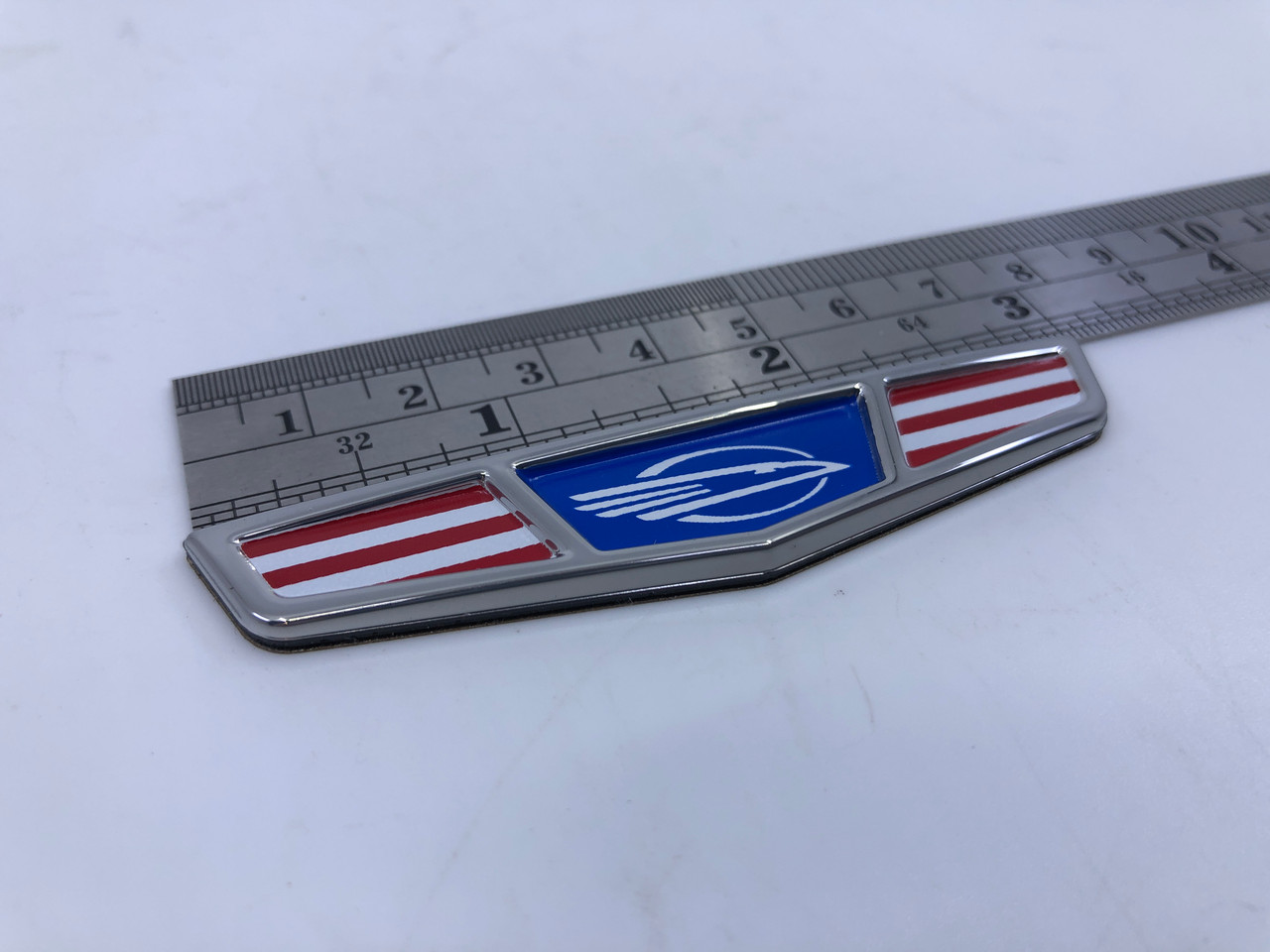 """CHAPARRAL PATRIOT FLAG LOGO 3"""" X 5/8"""" 14.02605  *In Stock & Ready To Ship!"""