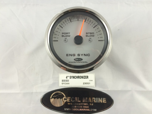 "CHAPARRAL TWIN ENGINE 4"" SYNCHRONIZER - This item is no longer available from Chaparral"