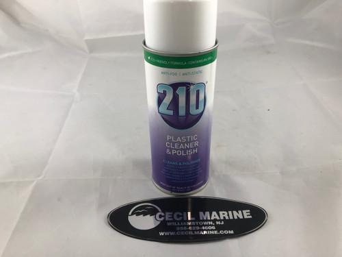 210 PLASTIC CLEANER/POLISH