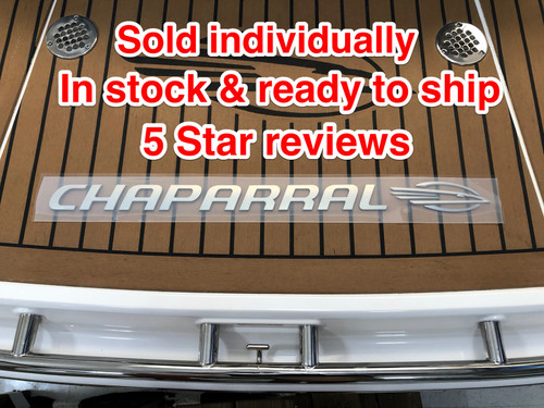 """CHAPARRAL LOGO WITH SMALL BIRD HEAD 30"""" X 2"""" / 14.00671 *In Stock & Ready To Ship!"""