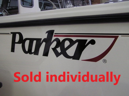 parker boat parts logos and decals cecil marine Sukup Wiring Diagram