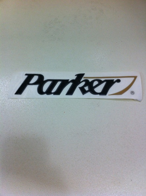 """PARKER SPORT CABIN LOGO **** 9""""L X 2""""H *In Stock & Ready To Ship!"""
