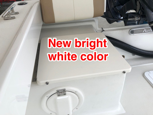 STERN JUMP SEAT LID BRIGHT WHITE / NO CUSHION