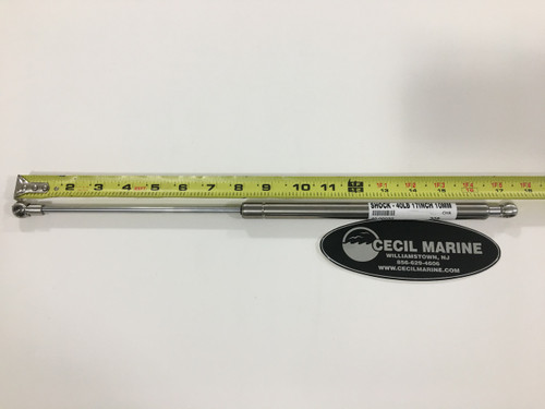 "SHOCK - 40 LBS - 17"" LONG - 10MM ENDS - 40.0030"