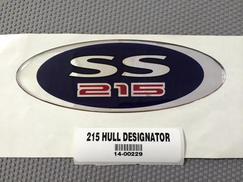 DECAL - 215SSI DESIGNATOR