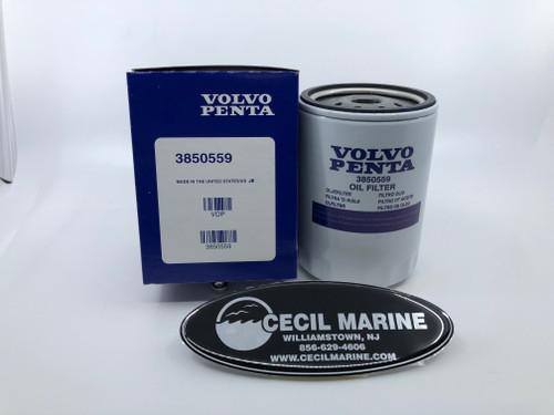 $11.18* GENUINE VOLVO OIL FILTER - 3850559 ** IN STOCK & READY TO SHIP!