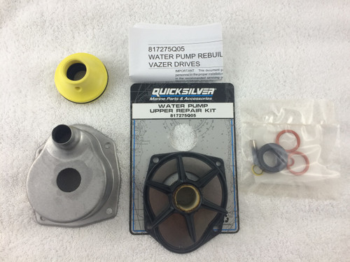 135.21* GENUINE MERCRUISER WATER PUMP REBUILD KIT FOR ALPHA 1 GEN II - 817275Q05 ** IN STOCK AND READY TO SHIP!