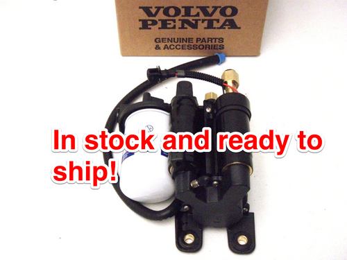 $899.99* GENUINE VOLVO FUEL PUMP  23306461  ( OLD PART # 21608511 ) *a signature is required for delivery* In stock & ready to ship!