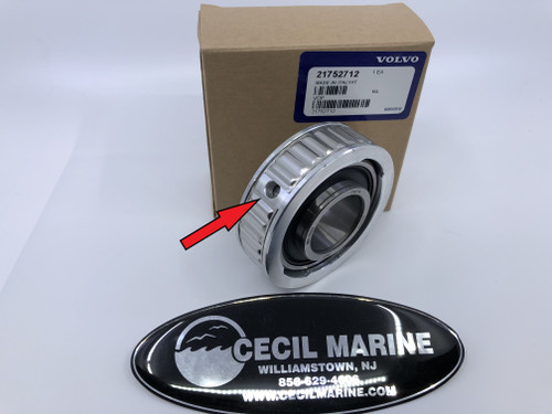 $89.95* GENUINE VOLVO   GIMBAL GREASEABLE BEARING 21752712 *In stock & ready to ship!