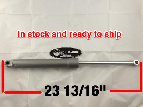 """$444.15* GENUINE VOLVO TRIM CYLINDER STB. SIDE FULL TILT 23 13/16"""" FULLY EXTENDED 22187386  ** In Stock & Ready To Ship! **"""