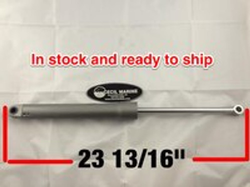"$424.15* GENUINE VOLVO TRIM CYLINDER CYLINDER PORT SIDE FULL TILT 23 13/16"" FULLY EXTENDED 22187385  **In Stock & Ready To Ship!"
