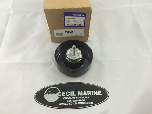 $109.99* GENUINE VOLVO IDLER PULLEY 3861009 **In stock & ready to ship!
