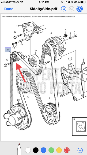 $93.81 BELT TENSIONER 3885250  - ** IN STOCK AND READY TO SHIP!!