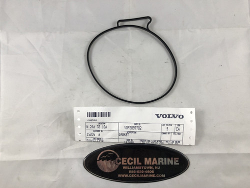 $15.95 GENUINE VOLVO GASKET FOR COVER 3889782  ** IN STOCK & READY TO SHIP! **