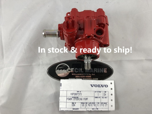 $439.47* GENUINE VOLVO POWER STEERING PUMP 3887373 - In Stock & Ready To Ship!