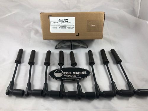 $63.95* GENUINE VOLVO IGNITION CABLE KIT  21801266 **In Stock & Ready To Ship!