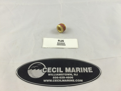 $7.95 GENUINE VOLVO BRASS PLUG - LARGE **In Stock & Ready To Ship!