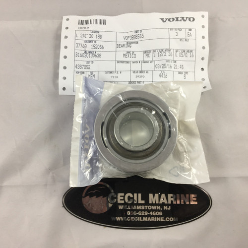 $110.95 GENUINE VOLVO GIMBAL BEARING NON-GREASEABLE - 3888555   *IN STOCK & READY TO SHIP! **