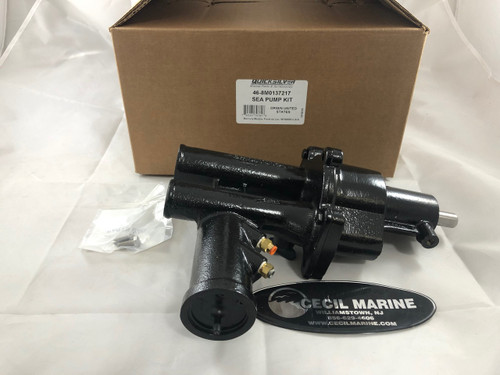 $725.95* GENUINE MERCRUISER SEAWATER PUMP 46-8M0137217  ** IN STOCK & READY TO SHIP! **