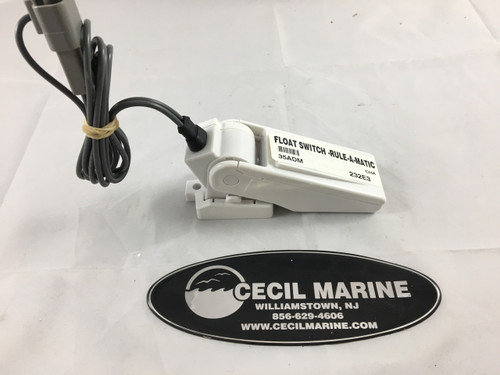 CHAPARRAL BILGE FLOAT SWITCH W/PLUG   35ADM ** In Stock & Ready To Ship!