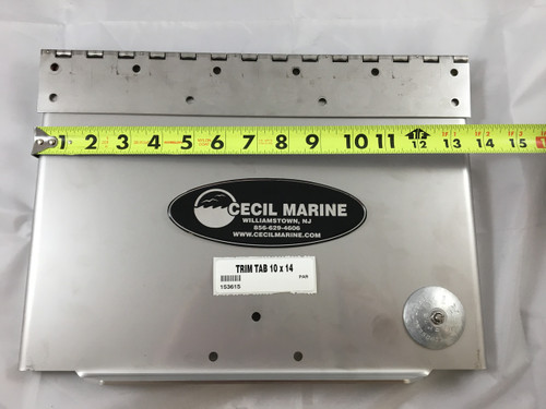 PARKER PORT OR STARBOARD TRIM TAB 10 x 14  ** IN STOCK & READY TO SHIP!