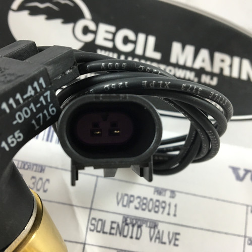 $73.18 SOLENOID VALVE GENUINE VOLVO - 3808911  ** IN STOCK & READY TO SHIP!