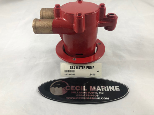 $469.95 GENUINE VOLVO  SEA WATER PUMP 22031242  *In stock & ready to ship!