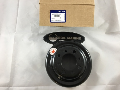 $29.95* GENUINE VOLVO CIRCULATION PUMP PULLEY - 3861313** In Stock & Ready To Ship!