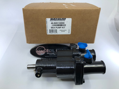 $409.95* GENUINE MERCRUISER BRASS SEAWATER PUMP 4.3 5.0 5.7 6.2 350  - 46-8M0139995 ** IN STOCK & READY TO SHIP