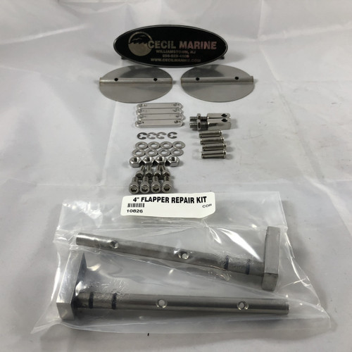 "CORSA QUICK & QUIET EXHAUST 4"" FLAPPER REPAIR KIT  **In Stock & Ready To Ship!"
