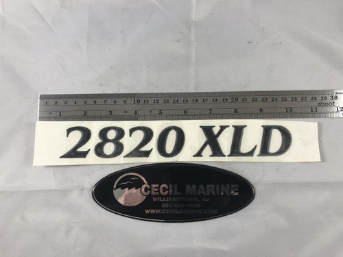 2820 XLD PARKER HULL DESIGNATION DECAL