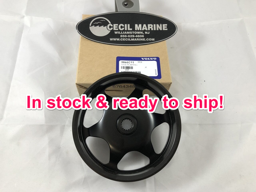 $28.95* GENUINE VOLVO POWER STEERING PULLEY - 3889611  ** IN STOCK & READY TO SHIP! **