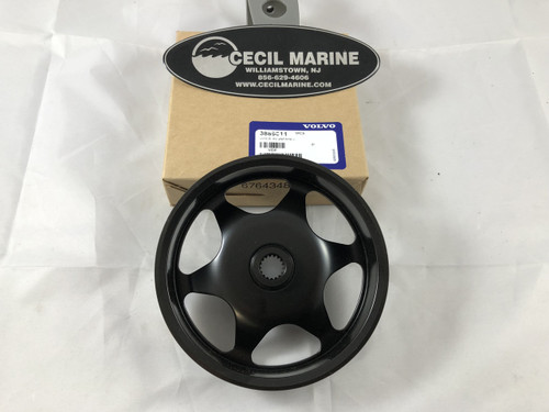 $20.47* GENUINE VOLVO POWER STEERING PULLEY - 3889611  ** IN STOCK & READY TO SHIP! **