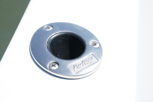 PARKER LOGO S/S ROD HOLDER - 2017 AND NEWER ** In Stock & Ready To Ship!