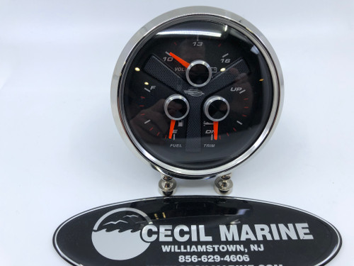 3-IN-1  GAUGE VOLT/ / FUEL / TRIM - 13.02117 *In Stock & Ready To Ship!