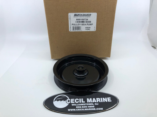 $89.99* GENUINE MERCRUISER PULLEY-SEA PUMP - 8M0150724 ** IN STOCK & READY TO SHIP