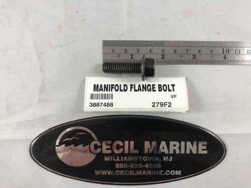 MANIFOLD FLANGE BOLT 3887488  ** IN STOCK & READY TO SHIP