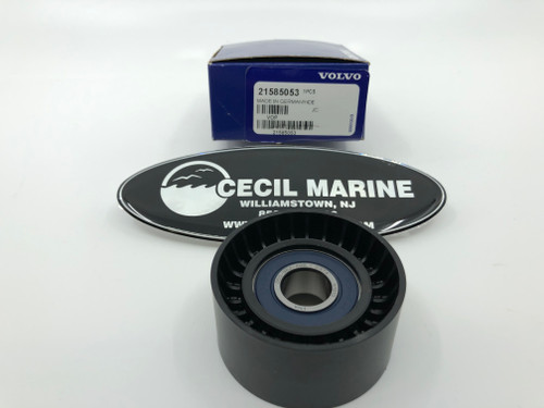 $31.40* GENUINE VOLVO IDLER PULLEY - 21585053 * IN STOCK & READY TO SHIP!