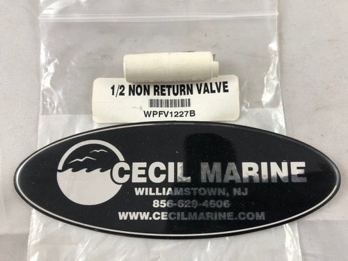1/2 NON RETURN VALVE ** Sorry this item is no longer available